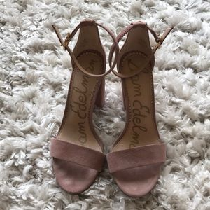 Dusty Pink Sam Edelman Yaro Ankle Strap Sandal